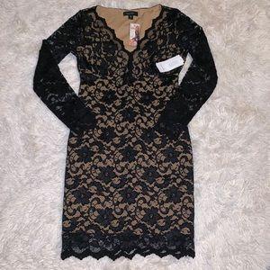 Brand new Karen Kane black lace dress